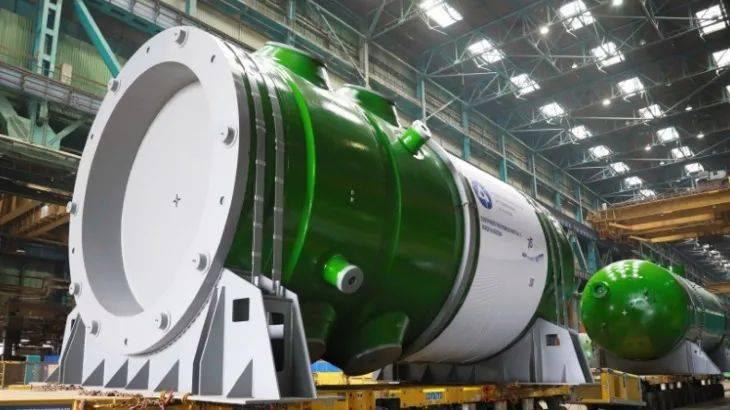 俄制卢普尔1号机组反应堆压力容器抵运孟加拉国