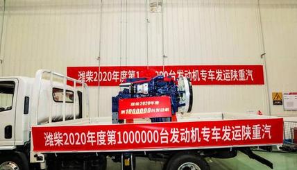 020年产销发动机突破100万台
