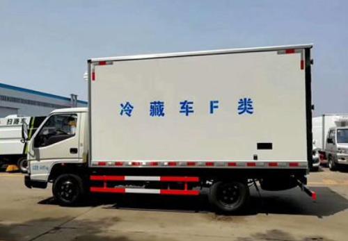 不同于常见的冷藏车  新能源冷藏车--LNG冷藏车