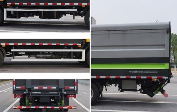 第343批《公告》之中联牌15.6方密闭式桶装垃圾车(型号:ZBH5080XTYSHE6)