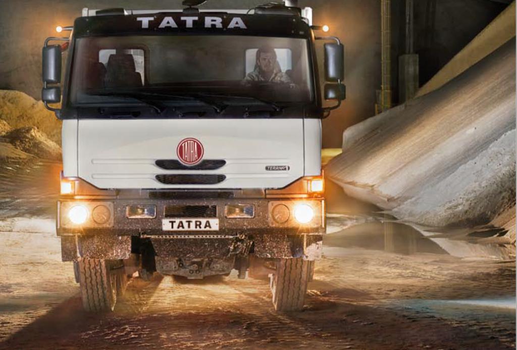 TATRA terrno 1自卸车特点详解