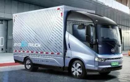 比亚迪开始造纯电商用/专用汽车!?比亚迪引领风潮!