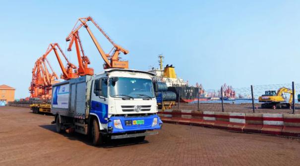 吞吐量全球第二的唐山港,无人驾驶清扫新演武场!