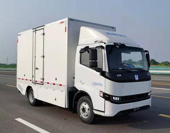 第345批公告|远程氢燃料电池物流车HN5040XXYD12C3FCEV,搭载重塑燃料电池系统