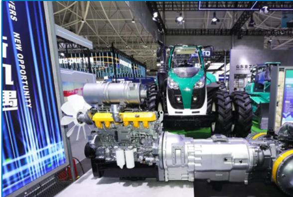新成果、新产品、新科技 山东重工•潍柴动力新产品新科技惊艳全球