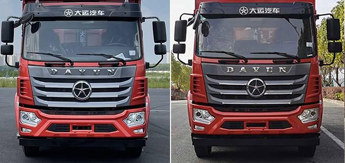 第347批《公告》之大运牌18吨自卸汽车(型号:DYQ3180D6AC)