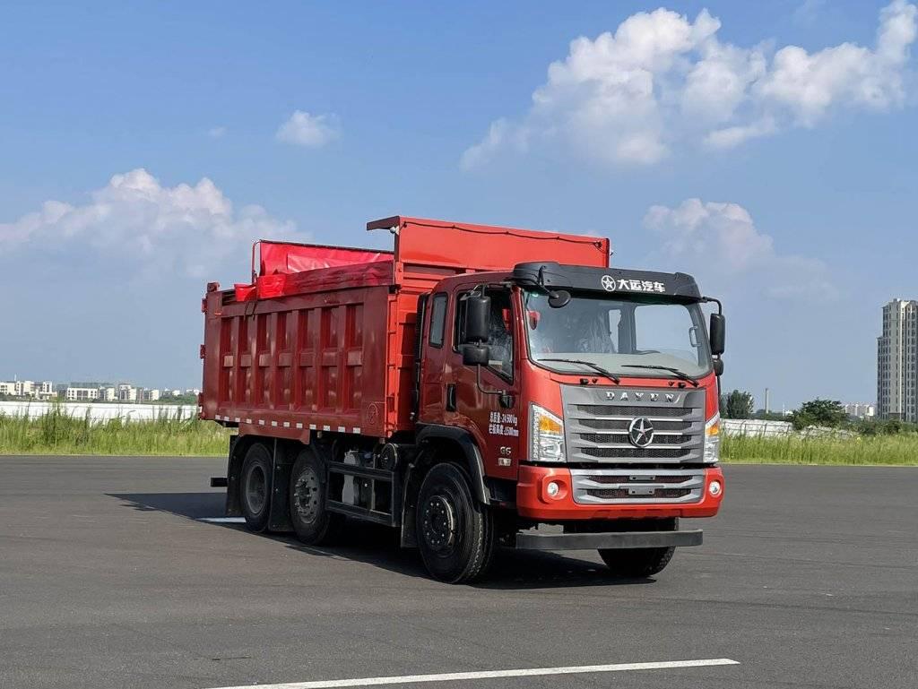 第347批《公告》之大运牌24吨自卸汽车(型号:DYQ3246D6CD)
