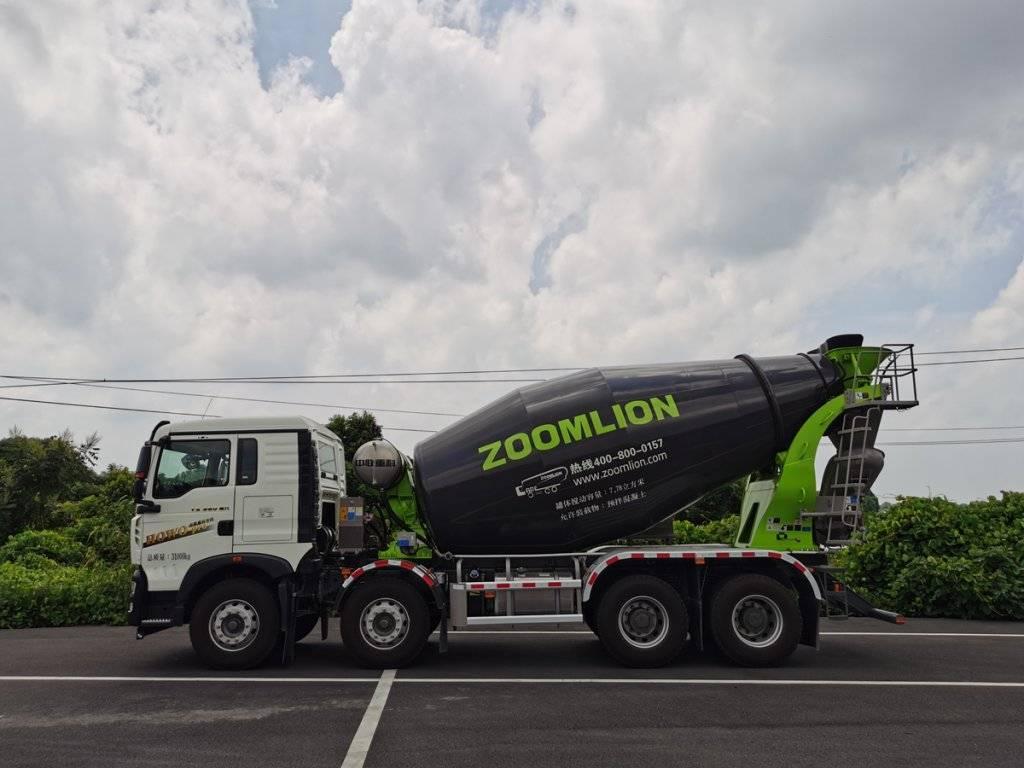 第348批《公告》之中联牌7.78方混凝土搅拌运输车(型号ZLJ5311GJBHT7F)