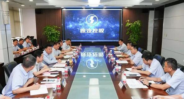陕西省西安市副市长杨建强到陕汽调研