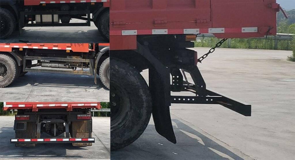 第347批《公告》之大运牌16吨自卸汽车(型号:DYQ3165D6AC)