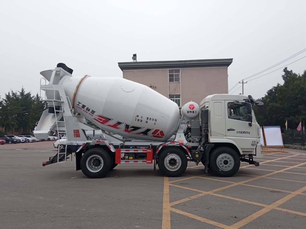 第348批《公告》之亚特重工牌6.0方混凝土搅拌运输车(型号TZ5240GJBDYAF)