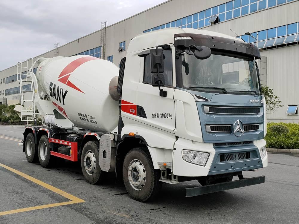 第348批《公告》之三一牌7.99方混凝土搅拌运输车(型号SYW5310GJB1FA)