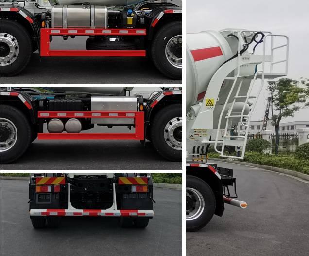 第348批《公告》之三一牌7.99方混凝土搅拌运输车(型号SYW5316GJB1F)