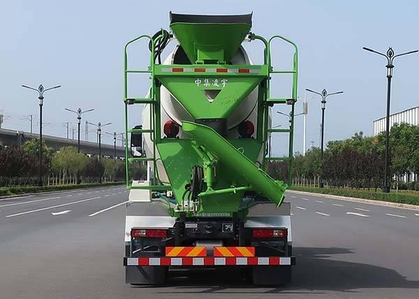 第348批《公告》之凌宇牌8.0方混凝土搅拌运输车(型号CLY5311GJB30E62)