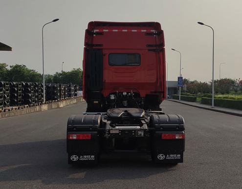 第348批《公告》之红岩牌18吨半挂牵引车(型号:CQ4187HK13361)