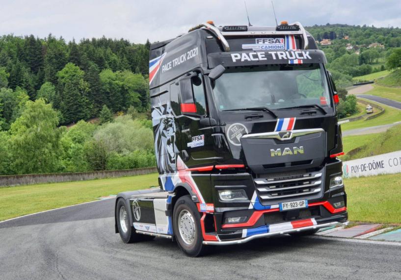 仅有10台 最大640马力 曼恩商用车法国推出Pace Truck限量版车型