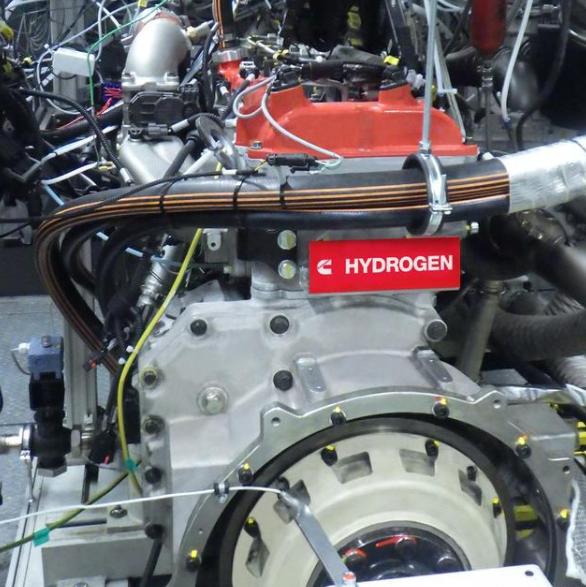 康明斯加速中重型氢燃料内燃机开发