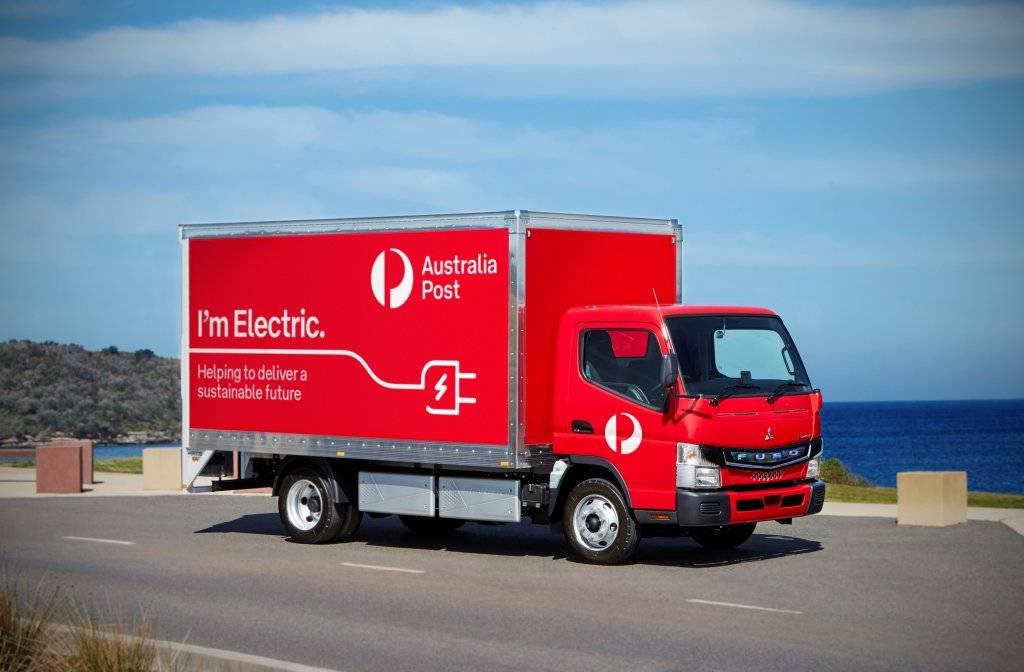 纯电动轻卡-eCanter在澳大利亚邮局投入运行