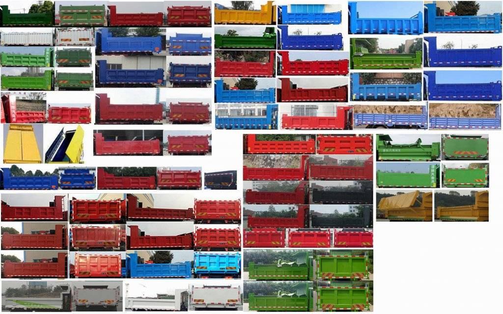 第348批《公告》之陕汽牌18吨纯电动自卸汽车(型号:SX3180BEV371N)