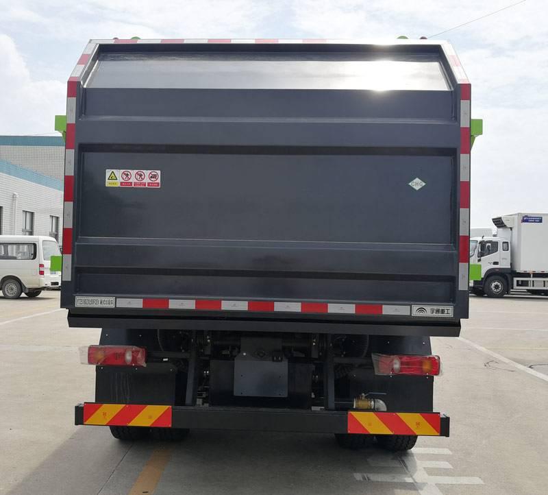 第348批《公告》之宇通牌18吨燃料电池厢式垃圾车(型号YTZ5180ZXLD0FCEV)