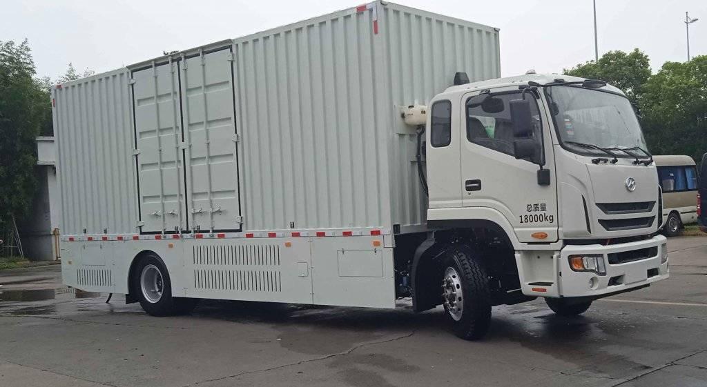 第348批《公告》之海格牌10米燃料电池厢式运输车(型号KLQ5180XXYFCEV1)