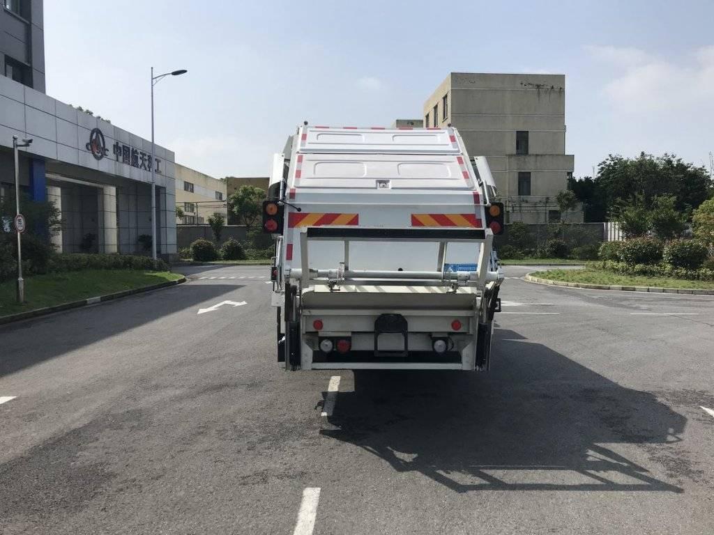 第348批《公告》之三力牌12吨燃料电池压缩式垃圾车(型号CGJ5127ZYSSHFCEV)