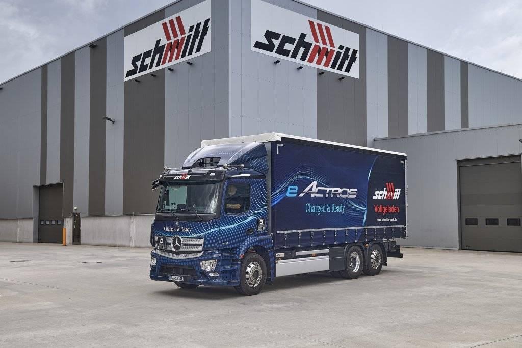 梅赛德斯-奔驰eActros在德国和荷兰部分地区投入运行